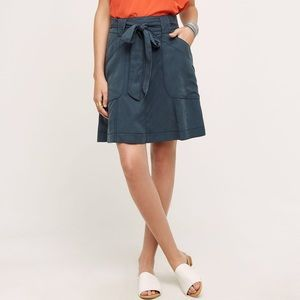 HD in Paris Bryden Skirt Belt Tie Tencel Pockets
